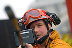 Gun style search camera being used in the Urban Search and Rescue demonstration in Swansea today. The USAR is managed by the Chief Fire Officers Association (CFOA) on behalf of the UK Government.