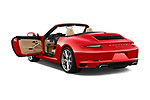Car images of 2018 Porsche 911 Carrera 2 Door Convertible Doors