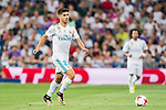 Marco Asensio Willemsen (l) of Real Madrid in action   during their Supercopa de Espana Final 2nd Leg match between Real Madrid and FC Barcelona at the Estadio Santiago Bernabeu on 16 August 2017 in Madrid, Spain. Photo by Diego Gonzalez Souto / Power Sport Images