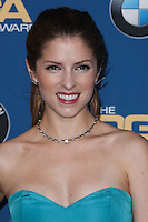 CENTURY CITY, CA - JANUARY 25: Anna Kendrick in the press room at the 66th Annual Directors Guild Of America Awards held at the Hyatt Regency Century Plaza on January 25, 2014 in Century City, California. (Photo by Xavier Collin/Celebrity Monitor)