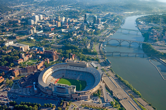 Knoxville and Tennessee River