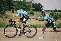 """""""teamwork makes the team work""""<br /> <br /> 3rd Dwars Door Het hageland 2018 (BEL)<br /> 1 day race:  Aarschot > Diest: 198km"""