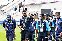 Ravichandran Ashwin, India acknowledges a group of fans during India vs New Zealand, ICC World Test Championship Final Cricket at The Hampshire Bowl on 18th June 2021