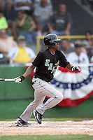 June 24, 2009: Dee Gordon of the Great Lakes Loons at the 2009 Midwest League All Star Game at Alliant Energy Field in Clinton, IA.  Photo by: Chris Proctor/Four Seam Images