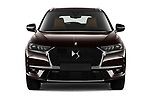 Car photography straight front view of a 2021 Ds DS-7-Crossback Rivoli 5 Door SUV Front View