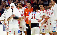 Ivano Balic and other Croatian players after loosing men`s EHF EURO 2012 championship semifinal handball game against Serbia in Belgrade, Serbia, Friday, January 27, 2011.  (photo: Pedja Milosavljevic / thepedja@gmail.com / +381641260959)