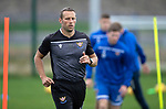 St Johnstone Training…27.09.19<br />Fitness coach Alex Headrick pictured during training this morning at McDiarmid Park ahead of tomorrow's game against Motherwell.<br />Picture by Graeme Hart.<br />Copyright Perthshire Picture Agency<br />Tel: 01738 623350  Mobile: 07990 594431