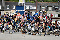 Tony Martin (DEU/Jumbo-Visma) rolling through Châteaulin<br /> <br /> Stage 1 from Brest to Landerneau (198km)<br /> 108th Tour de France 2021 (2.UWT)<br /> <br /> ©kramon