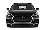 Car photography straight front view of a 2015 Hyundai I30 Turbo 5 Door Hatchback