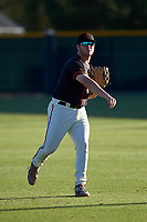 AZL Giants Black right fielder Harrison Freed (32) during an Arizona League game against the AZL Angels at the Giants Baseball Complex on June 21, 2019 in Scottsdale, Arizona. AZL Angels defeated AZL Giants Black 6-3. (Zachary Lucy/Four Seam Images)