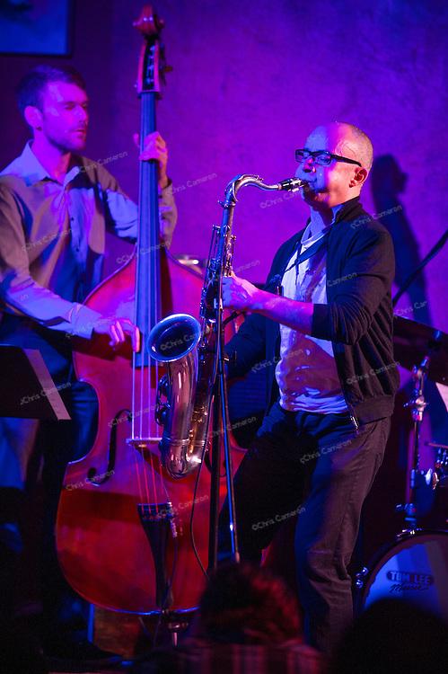 Jullian Arquelles Quartet plays IronWorks, June 27, 2013 in the TD Vancouver International Jazz Festival