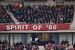 Middlesbrough 1 Preston North End 1, 22/01/2011. Riverside Stadium, Championship. Middlesbrough FC supporters seated in the North Stand at the Riverside Stadium watching their team's match against Preston North End in an Npower Championship fixture. The match ended in a one-all draw watched by a crowd of 16,157. Middlesbrough relocated from their former home at Ayresome Park in 1995. Photo by Colin McPherson.