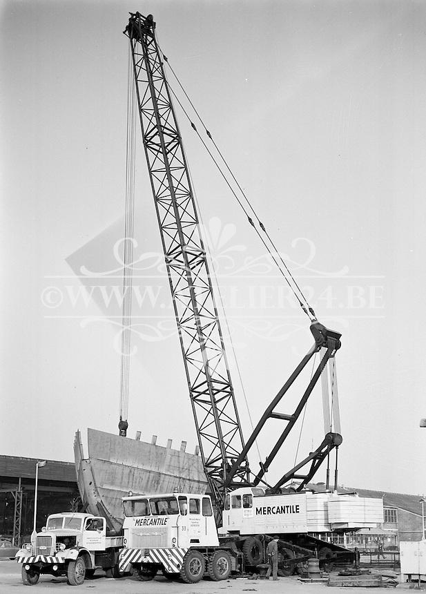 April 1964. Kraan Mercantile Marine Engineering.