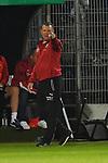 09.08.2019, BWT-Stadion am Hardtwald, Sandhausen, GER, DFB Pokal, 1. Runde, SV Sandhausen vs. Borussia Moenchengladbach, <br /> <br /> DFL REGULATIONS PROHIBIT ANY USE OF PHOTOGRAPHS AS IMAGE SEQUENCES AND/OR QUASI-VIDEO.<br /> <br /> im Bild: Uwe Koschinat (Trainer, SV Sandhausen)<br /> <br /> Foto © nordphoto / Fabisch