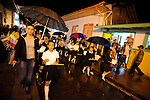 Street scenes.Salento, ColombiaEaster weekend.Parade.Salento, Colombia