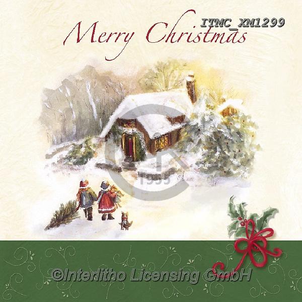 Marcello, CHRISTMAS LANDSCAPES, WEIHNACHTEN WINTERLANDSCHAFTEN, NAVIDAD PAISAJES DE INVIERNO, paintings+++++,ITMCXM1299,#xl#