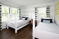bedroom with two seperate beds
