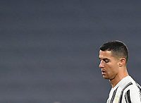 Calcio, Serie A: Juventus - Atalanta, Turin, Allianz Stadium, December 16, 2020.<br /> Juventus' Cristiano Ronaldo reacts after missing a penalty during the Italian Serie A football match between Juventus and Atalanta at the Allianz stadium in Turin,  December 16, 2020.<br /> UPDATE IMAGES PRESS/Isabella Bonotto