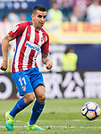 Angel Correa of Atletico de Madrid in action during their La Liga match between Atletico de Madrid vs Athletic de Bilbao at the Estadio Vicente Calderon on 21 May 2017 in Madrid, Spain. Photo by Diego Gonzalez Souto / Power Sport Images