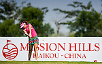Players in action during the first day of the World Ladies Championship at the Mission Hills Haikou Sandbelt Trails course on 7 March 2013 in Hainan island, China . Photo by Victor Fraile / The Power of Sport Images