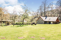 BNPS.co.uk (01202) 558833<br /> Pic: PurpleBricks/BNPS<br /> <br /> Cider cottage rules! <br /> <br /> A one-bedroom eco-cottage in a former cider orchard has gone on sale for £250,000.<br /> <br /> River Cabin is in a picturesque spot on the edge of the Brecon Beacons National Park with a brook running by outside and beautiful rural views.<br /> <br /> Made from local stone with a slate roof, the cottage has one bedroom, a shower room, a living room and kitchen, as well as a sun-terrace overlooking the nearby stream.<br /> <br /> It sits in the former cider orchard alongside three camping pitches and a picnic shelter.
