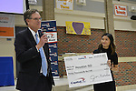 Nine schools competed in the Dream On Steam On student showcase at Northside HS, thanks to support from Capital One. Houston Market President Jim Nicolas surprised the crowd with additional funding of $30,000.
