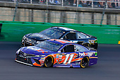 Monster Energy NASCAR Cup Series<br /> Quaker State 400<br /> Kentucky Speedway, Sparta, KY USA<br /> Saturday 8 July 2017<br /> Denny Hamlin, Joe Gibbs Racing, FedEx Freight Toyota Camry and Reed Sorenson, Premium Motorsports, Losers Bar & Grill Chevrolet SS<br /> World Copyright: Russell LaBounty<br /> LAT Images