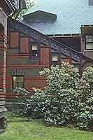 Hartford: Mark Twain House. Photo '91.