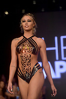 MIAMI BEACH, FL - JULY 15: Models walk the runway for Black Tape Project at Miami Swim Week powered by Art Hearts Fashion Swim/Resort 2019/20 at Faena Forum on July 15, 2019 in Miami Beach, Florida.  .<br />
