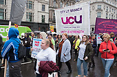 Further Education funding protest, Westminster, London.