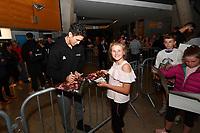 New Zealand Tall Blacks' Kruz Perrott-Hunt, FIBA World Cup Basketball Qualifier - NZ Tall Blacks v Jordan at Horncastle Arena, Christchurch, New Zealand on Thursday 29 November  2018. <br /> Photo by Masanori Udagawa. <br /> www.photowellington.photoshelter.com