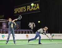 10-02-14, Netherlands,Rotterdam,Ahoy, ABNAMROWTT, Sportplaza<br /> Photo:Tennisimages/Henk Koster
