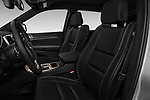 Front seat view of 2017 JEEP Grand-Cherokee Limited 5 Door SUV Front Seat  car photos