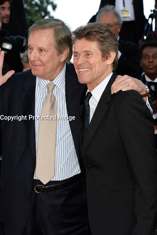 William Friedkin, Willem Dafoe attends the 'Graduation (Bacalaureat)' Premiere during the 69th annual Cannes Film Festival at the Palais des Festivals on May 19, 2016 in Cannes