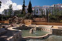 Spanien, Andalusien, Brunnen Fuente del Rey in Priego de Cordoba