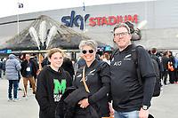 All Blacks fans arrive for the Bledisloe Cup - New Zealand v Australia at Sky Stadium, Wellington, New Zealand on Sunday 11 October 2020. <br /> Photo by Masanori Udagawa. <br /> www.photowellington.photoshelter.com