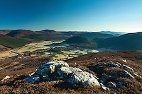 Braemar and the River Dee from Morrone, Aberdeenshire