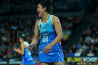 Mystics captain Sulu Fitzpatrick during the ANZ Premiership netball final between Northern Mystics and Mainland Tactix at Spark Arena in Auckland, New Zealand on Sunday, 8 August 2021. Photo: Dave Lintott / lintottphoto.co.nz