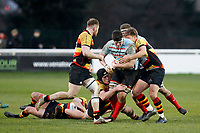 Jamie Ure of Blackheath Rugby during the English National League match between Richmond and Blackheath  at Richmond Athletic Ground, Richmond, United Kingdom on 4 January 2020. Photo by Carlton Myrie.