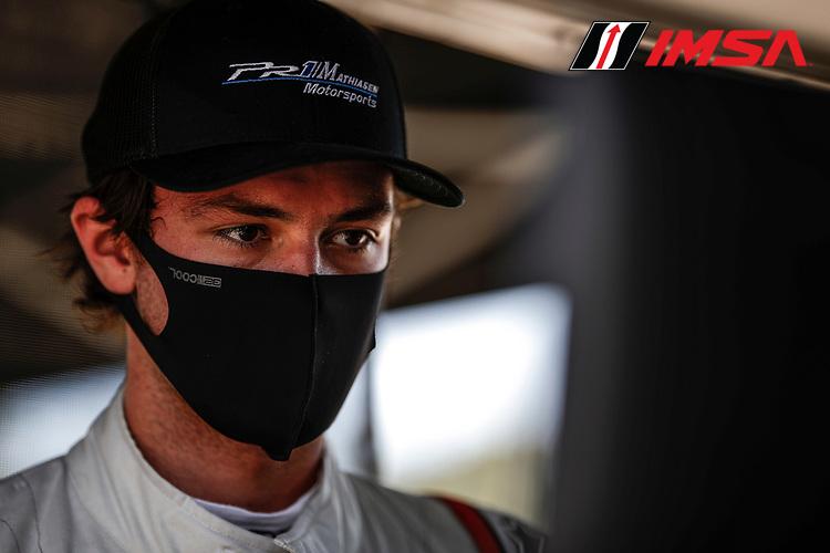 #52 PR1 Mathiasen Motorsports ORECA LMP2 07, LMP2: Scott Huffaker