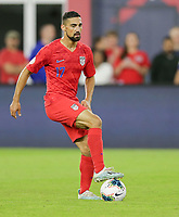 WASHINGTON, D.C. - OCTOBER 11: Sebastian Lletget #17 of the United States traps the ball during their Nations League game versus Cuba at Audi Field, on October 11, 2019 in Washington D.C.