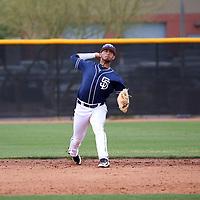 Gabriel Arias - San Diego Padres 2018 spring training (Bill Mitchell)