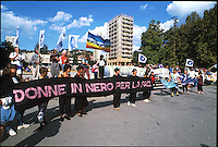 manifestazione per la pace, carovana della pace ex jugoslavia 1992