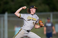 Alex Alderson (40) during the WWBA World Championship at Lee County Player Development Complex on October 8, 2020 in Fort Myers, Florida.  Alex Alderson, a resident of South Boston, Virginia who attends Dan River Sr. High School.  (Mike Janes/Four Seam Images)