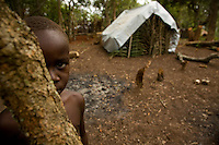 Refugee portait. makpando refugee camp, 44 km from yambio along the south sudan- congo border.