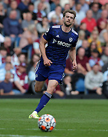 29th August 2021; Turf Moor, Burnley, Lancashire, England; Premier League football, Burnley versus Leeds United: Patrick Bamford of Leeds United chases a through ball