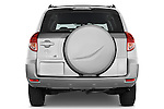 Straight rear view of a 2008 Toyota Rav4 Limited SUV Stock Photo