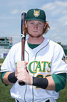 Clint Frazier (20) of the Lynchburg Hillcats poses for a photo prior to the game against the Frederick Keys at Calvin Falwell Field at Lynchburg City Stadium on May 14, 2015 in Lynchburg, Virginia.  The Hillcats defeated the Keys 6-3.  (Brian Westerholt/Four Seam Images)