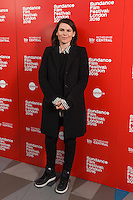 """director, Clea Duvall<br /> arrives for the screening of """"The Intervention"""" as part of the Sundance Film Festival: London 2016 at the Picturehouse Central, London.<br /> <br /> <br /> ©Ash Knotek  D3127  03/06/2016"""