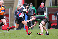Tuesday 3rd April 2018 | Malone Women vs Ballynahinch Women<br /> <br /> Eimear Hagan during the Easter Tuesday Ulster Womens final between Malone and Ballynahinch at Kingspan Stadium, Ravenhill Park, Belfast, Northern Ireland. Photo by John Dickson / DICKSONDIGITAL